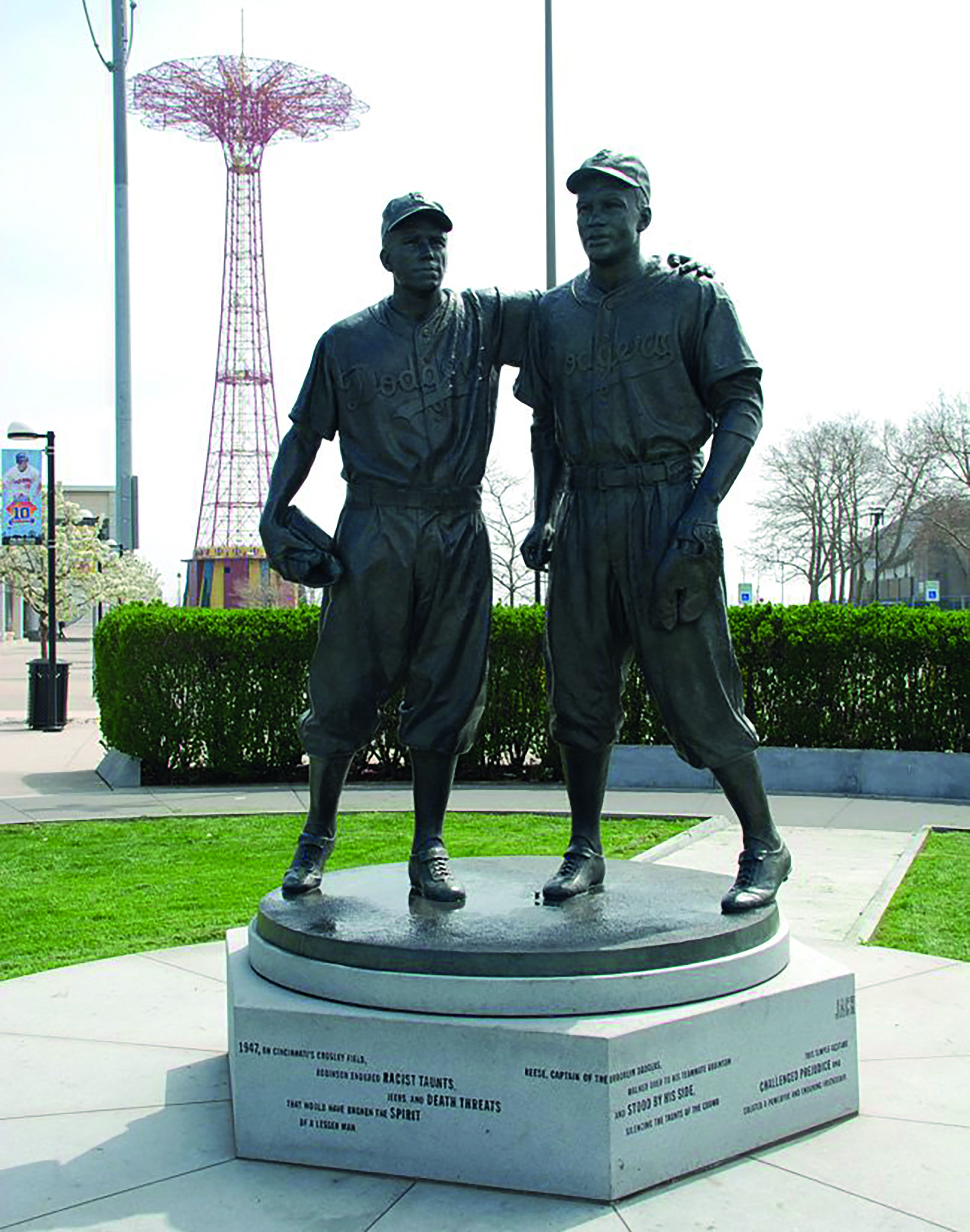Jackie Statue