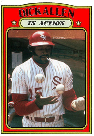 Dick Allen in action